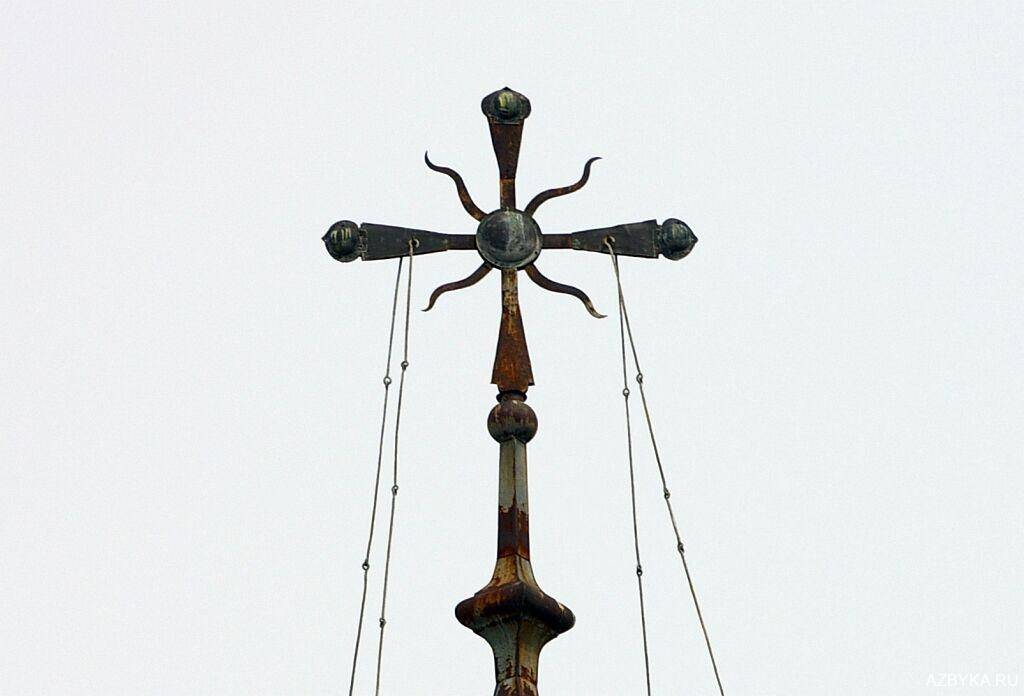 Крест вологодского храма