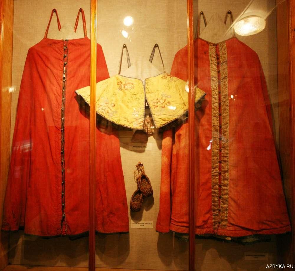 Одежда 17-го века
