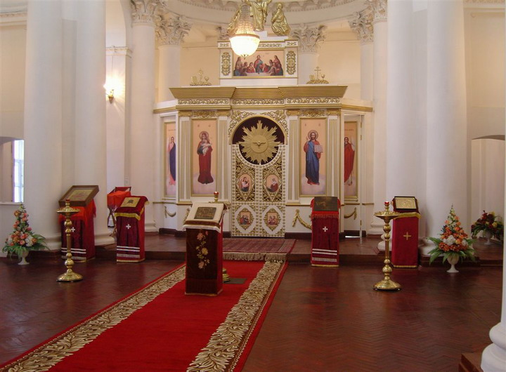 055 - Собор в честь Святой Живоначальной Троицы: Сегодня
