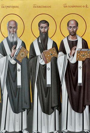 Слово в день Трех святителей — архимандрит Неофит (Пагида)