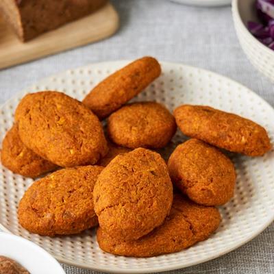 Морковно-яблочные котлеты
