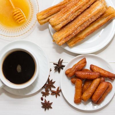 Анисовые сухарики «Пестиньос» (Pestiños)