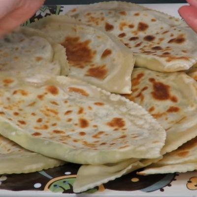 Кутабы с сыром и зеленью (видео)