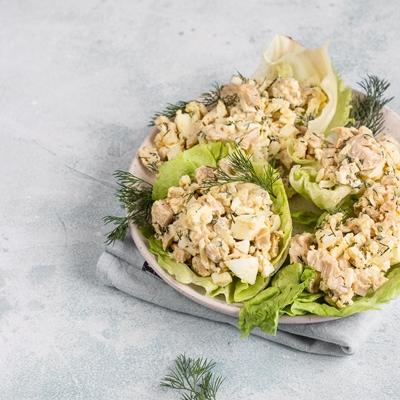 Архангельский салат из трески