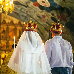 Краткая история чинопоследования обручения и венчания