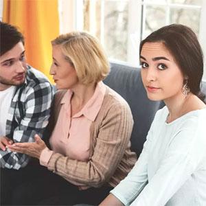 О вмешательстве родителей в семейную жизньдетей