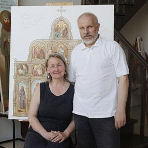 Фееричный и основательная: 36 лет союзу Игоря Бурмистрова и Марины Жуковой