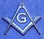 Один из знаков масонской ложи