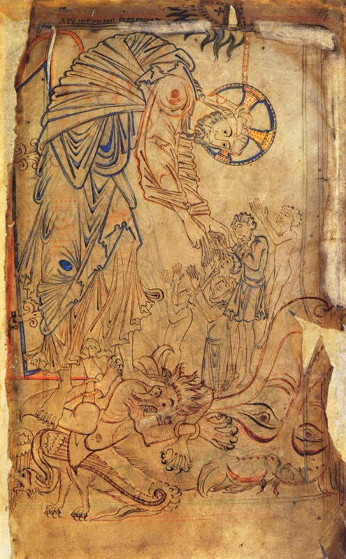 Иконография Пасхи: «Descensus ad inferos» и «Ανάστασις»