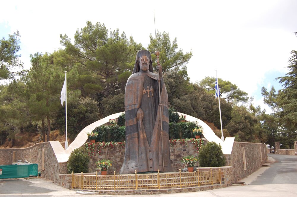 mountain cyprus 9 lg - Статуя, скульптура