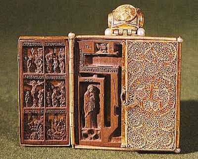 Мастер Амвросий. Икона-складень. 1456 г.