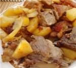 Быстрый рецепт свиных ребрышек с картошкой в духовке