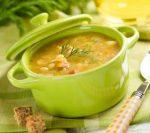 Рецепт постного горохового супа