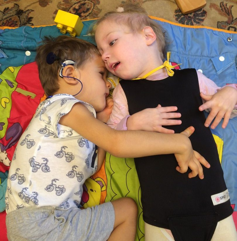 Особые дети в садиках Надежды Самойловой