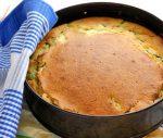 Рецепты для новичков: заливной пирог с зеленым луком и яйцом