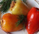 Фаршированный перец. Пошаговый рецепт