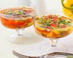 Постное меню: заливное из шампиньонов – рецепт